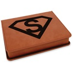 Super Hero Letters Leatherette 4-Piece Wine Tool Set (Personalized)