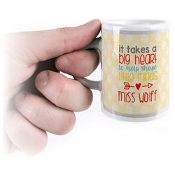 Teacher Quote Espresso Cups (Personalized)