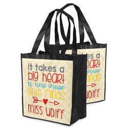 Teacher Quote Grocery Bag (Personalized)