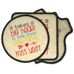 Teacher Quote Iron on Patches (Personalized)