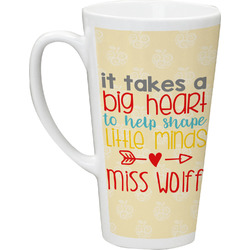 Teacher Quote Latte Mug (Personalized)