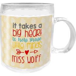 Teacher Quote Acrylic Kids Mug (Personalized)