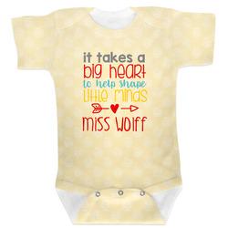 Teacher Quote Baby Bodysuit (Personalized)