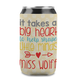 Teacher Quote Can Sleeve (12 oz) (Personalized)