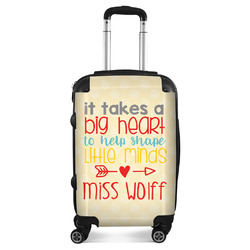 Teacher Quote Suitcase (Personalized)