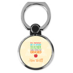 Teacher Quote Cell Phone Ring Stand & Holder (Personalized)