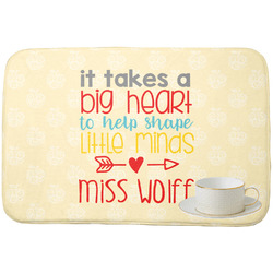 Teacher Quote Dish Drying Mat (Personalized)