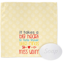 Teacher Quote Wash Cloth (Personalized)
