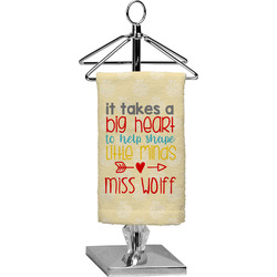 Teacher Quote Finger Tip Towel - Full Print (Personalized)