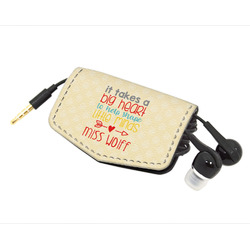 Teacher Quote Genuine Leather Cord Wrap (Personalized)