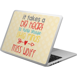 Teacher Quote Laptop Skin - Custom Sized (Personalized)