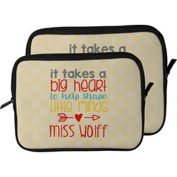 Teacher Quote Laptop Sleeve / Case (Personalized)