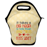 Teacher Quote Lunch Bag (Personalized)