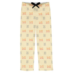 Teacher Quote Mens Pajama Pants (Personalized)