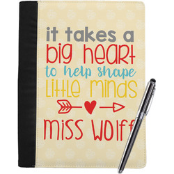 Teacher Quote Notebook Padfolio (Personalized)