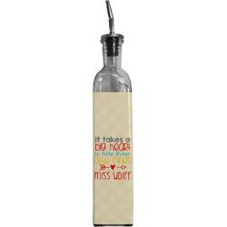 Teacher Quote Oil Dispenser Bottle (Personalized)