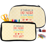 Teacher Quote Pencil / School Supplies Bag (Personalized)