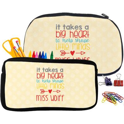 Teacher Quote Neoprene Pencil Case (Personalized)