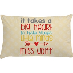 Teacher Quote Pillow Case (Personalized)