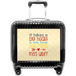 Teacher Quote Pilot / Flight Suitcase (Personalized)