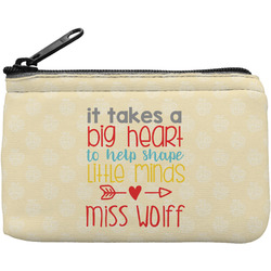 Teacher Quote Rectangular Coin Purse (Personalized)