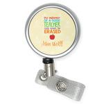 Teacher Quote Retractable Badge Reel (Personalized)