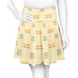 Teacher Quote Skater Skirt (Personalized)