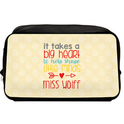 Teacher Quote Toiletry Bag / Dopp Kit (Personalized)