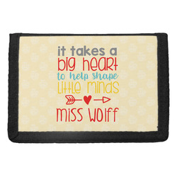 Teacher Quote Trifold Wallet (Personalized)