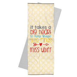 Teacher Quote Yoga Mat Towel (Personalized)