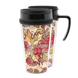 Thankful & Blessed Acrylic Travel Mugs (Personalized)