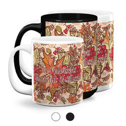 Thankful & Blessed Coffee Mugs (Personalized)