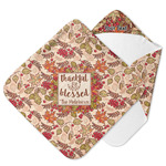 Thankful & Blessed Hooded Baby Towel (Personalized)