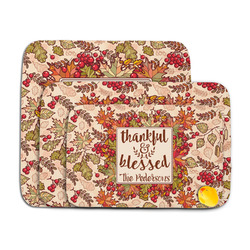 Thankful & Blessed Memory Foam Bath Mat (Personalized)