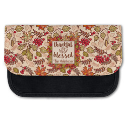 Thankful & Blessed Canvas Pencil Case w/ Name or Text