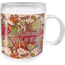 Thankful & Blessed Acrylic Kids Mug (Personalized)