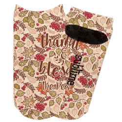 Thankful & Blessed Adult Ankle Socks (Personalized)