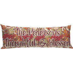 Thankful & Blessed Body Pillow Case (Personalized)