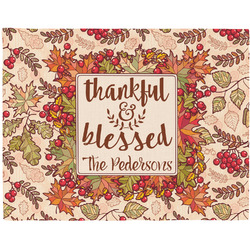 Thankful & Blessed Placemat (Fabric) (Personalized)