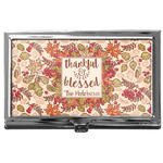 Thankful & Blessed Business Card Case
