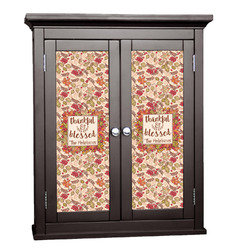 Thankful & Blessed Cabinet Decal - Custom Size (Personalized)