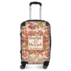 Thankful & Blessed Suitcase (Personalized)