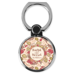 Thankful & Blessed Cell Phone Ring Stand & Holder (Personalized)