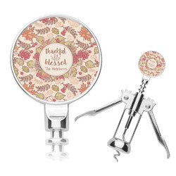 Thankful & Blessed Corkscrew (Personalized)