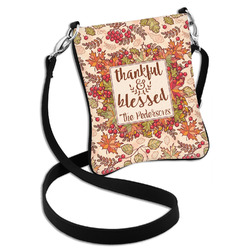 Thankful & Blessed Cross Body Bag - 2 Sizes (Personalized)
