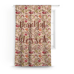 Thankful & Blessed Curtain (Personalized)