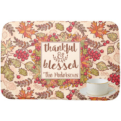 Thankful & Blessed Dish Drying Mat (Personalized)