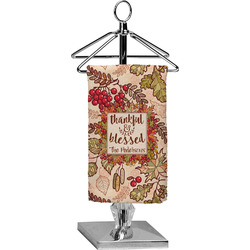 Thankful & Blessed Finger Tip Towel - Full Print (Personalized)