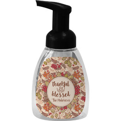 Thankful & Blessed Foam Soap Dispenser (Personalized)