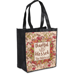 Thankful & Blessed Grocery Bag (Personalized)